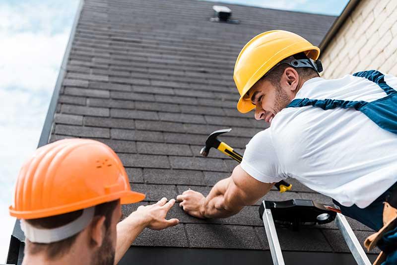 roof repair in Edmonton